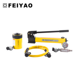 Fy-Rch Series Hollow Plunger Single-Acting Hydraulic Cylinders (30tons) pictures & photos
