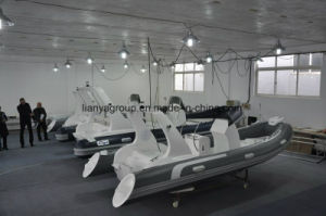 Liya 17feet Rowing Boat, Water Taxi for Sale pictures & photos