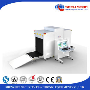 Dual Energy X ray Screening System AT10080B X-ray Baggage Scanner for Embassy use pictures & photos