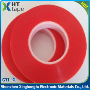 0.2mm Red Pet Double Sided Adhesive Tape pictures & photos