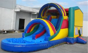 Inflatable Combo Slide, Inflatable Bouncer with Slide (B3049) pictures & photos