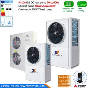 12kw 19kw 35kw 105kw Cooling Heating Air Source Heat Pump pictures & photos