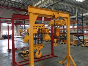 10t Singer Girder Bridge Crane pictures & photos