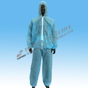 Disposable Protective Coveralls Disposable Protective Clothing pictures & photos