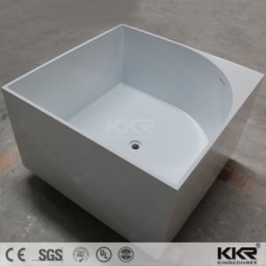 European Style Large Square Bathtub for Two Person pictures & photos