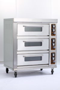 Two Layer Electric Pizza Oven with Ce for Bread Baking pictures & photos