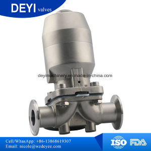Stainless Steel Sanitary U-Type Tee Welded Diaphragm Valve (DY-V104) pictures & photos