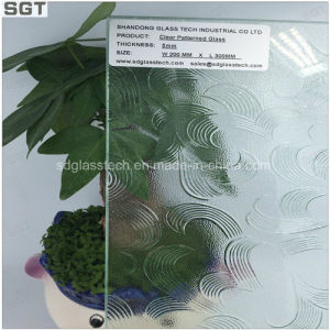 4mm 6mm Clear Float Glass Ultra Clear Patterned Glass for Office pictures & photos