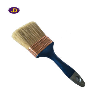 2016 High Quality Plastic Handle 100% Pure Hog Hair Brush pictures & photos