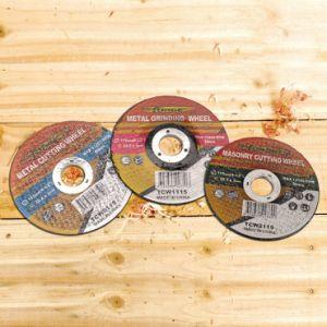 230*6*22.2mm Depressed Center Metal Abrasive Disc Grinding Wheel pictures & photos