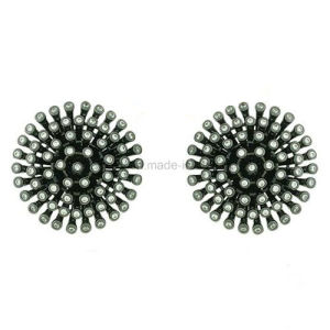 Wholesale Brass Jewelry Inlaid Ear Stud for Daily Wear (KE3084) pictures & photos