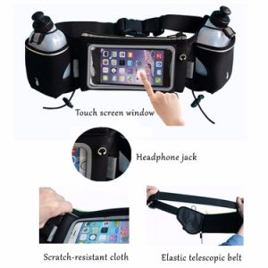 Outdoor Sport Running Waist Bag with Water Bottles pictures & photos