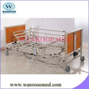 Bae5092 Factory Directly Electric Home Wooden Care Bed with Steel Side Rails pictures & photos