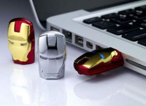 Iron Man USB Flash Drive (OM-P166) pictures & photos
