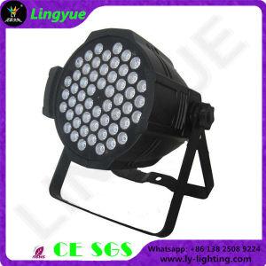 Stage Professional 54X3w RGBW DMX LED PAR Lamp pictures & photos