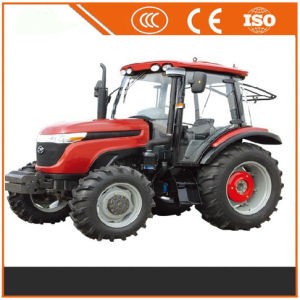 China 100HP 4*2 Four Wheels Farm Tractors with CE pictures & photos