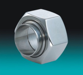 Stainless Steel Sanitary Hexangular Unions pictures & photos