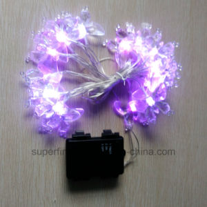 Decorative Soft Romantic Christmas String LED Lights with Flexible Line pictures & photos