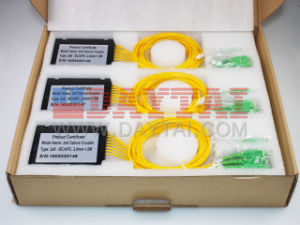 Factory Fiber Optic Splitter Coupler 2X8 Optical Coupler pictures & photos