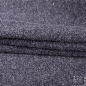 Wool/Cotton Fabric for Winter Coat in Blue pictures & photos