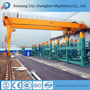 Double Beam Workshop Semi Gantry Crane 10ton pictures & photos