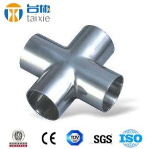 Stainless Steel A403 Wp304L Seamless Bw Cross Sch40 pictures & photos