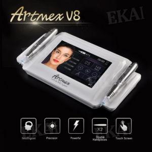 Professional Double Intelligent Handpieces Artmex V8 Semi Digital Permanent Makeup Machine pictures & photos