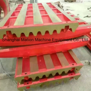 Jaw Plate for PE Jaw Crusher pictures & photos