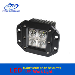 off-Road Vehicle Auto Part Ce RoHS IP67 12V Waterproof 3 Inch 12W Spot Flood Beam LED Work Headlight pictures & photos