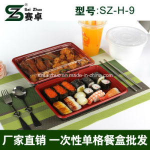 800ml Single Compartment Disposable Plastic Food Container pictures & photos