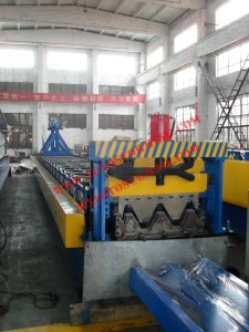 Color Steel Wave Roof Panel Roll Forming Machine with Ce Certification pictures & photos