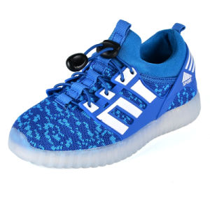 China Wholesale Flat Luminous LED Light up Shoes pictures & photos