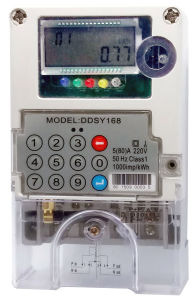 Single Phase Keypad GPRS Communication with Dlms System Energy Meter pictures & photos