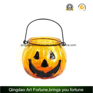 Mercury Glass Pumpkin Jar for Christmas Hollowen pictures & photos