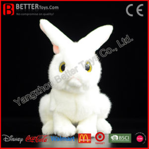 Lifelike Soft Bunny Stuffed Animal Realistic Plush Rabbit Toy pictures & photos