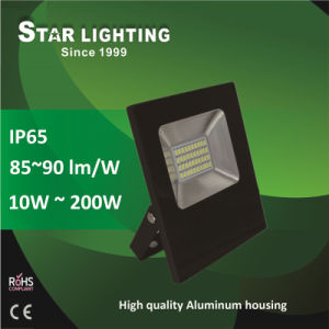 New Frameless Aluminum 30W Outdoor LED Floodlight with High Lumen