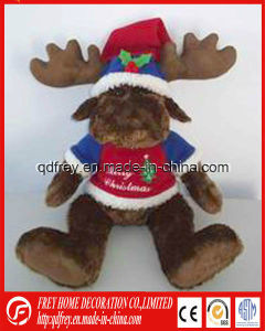China Manufacture for Plush Christmas Deer Toy