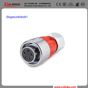 China Cnlinko Brand XLR Adapter Connector 5pin Metal Female Connector Apply to Electrical Bike and Solar energy pictures & photos