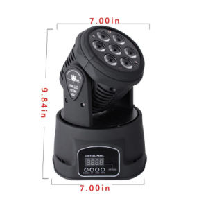 Indoor 7X15W 6in1 Moving Head for Bars pictures & photos