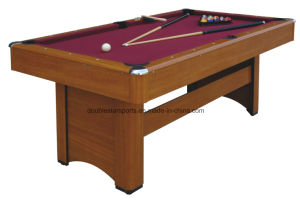 MDF Pool Table 6FT pictures & photos