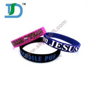 Custom Make Silicone Bracelets pictures & photos