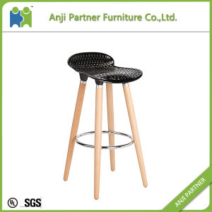 New Products on China Market Wood Legs Pink Bar Stool (Barry) pictures & photos