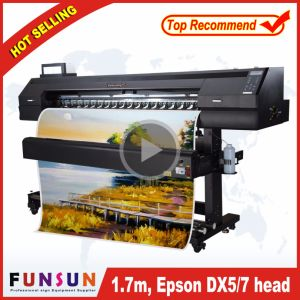 Funsunjet Fs-1700k 1440dpi Eco Solvent Printer with One Dx5 Head pictures & photos
