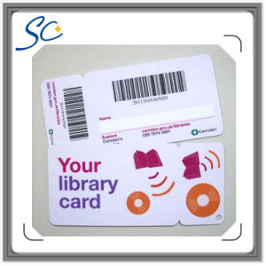 Printing Plastic PVC Loyalty Card with Barcode pictures & photos