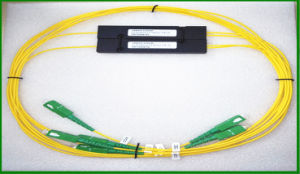 1X2 Ports CWDM Mux Demux Multiplexer / Pon Networks / CATV Optic Fiber Splitter pictures & photos