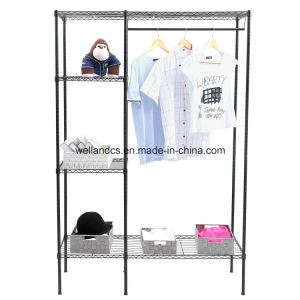 Hot Sale Epoxy Coated Metal Cloth Wardrobe for Bedroom pictures & photos