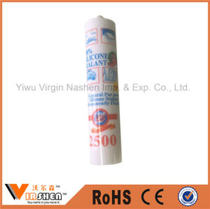 2500 100% General Purpose Neutral Silicone Sealant Permanently Flexible for Glass pictures & photos