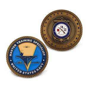 Custom Folk Style Us Navy Souvenir Coin pictures & photos