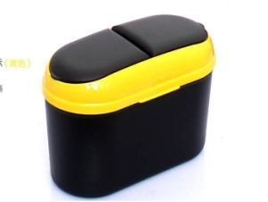 Best Price Eco-Friendly Standing Plastic Trash Bin for Car/Auto pictures & photos