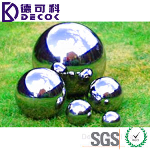 Large Outdoor Garden Decorative Stainless Steel Ball pictures & photos